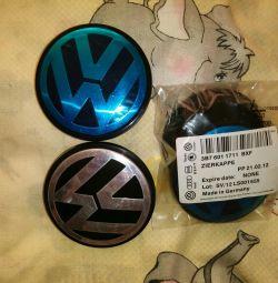 Volkswagen 4pcs için Döküm kapakları.
