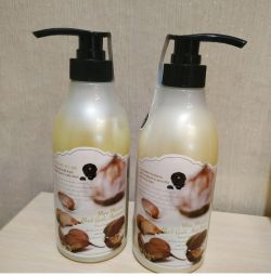 Shampoo and mask 3W Clinic new