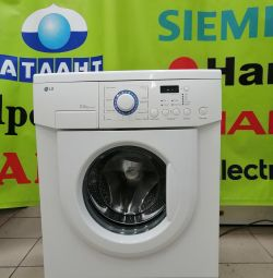 Washing Machine LG 3.5 Kg Delivery Guarantee