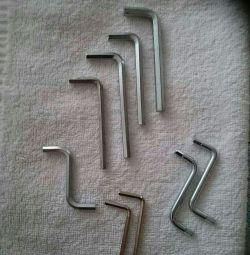 Шестигранник-ключи