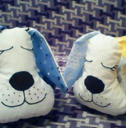 Подушка-собака