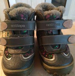 Зимові черевики 25р антилопа
