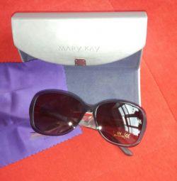 Sunglasses in a case.