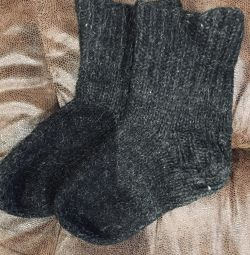 Buy granny socks)! Wool 100% 37-39