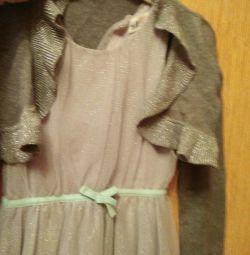 Платье плюс болеро
