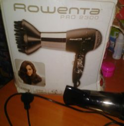 Фен новый Roventa