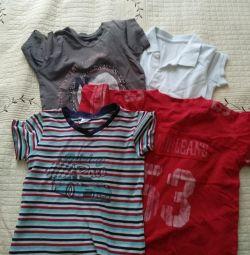 T-shirts 122-128
