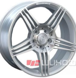 Колесные диски Replica Mercedes (MB74) 8.5x18 PCD 5x112 ET 35 DIA 66.6 Machined Gray