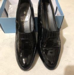 Γυναικεία παπούτσια, bu, δέρμα