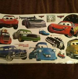 Decorative car wall stickers