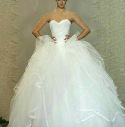 Designer wedding dress from
