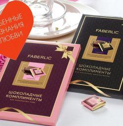 Шоколадные комплименты – новинки каталога Faberlic