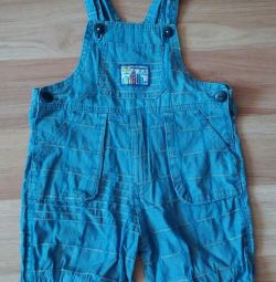 Overalls - shorts.