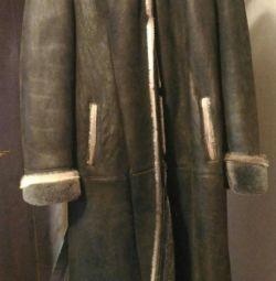 Sheepskin coat, 44-46 size