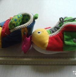 K'S Παιδικό εκπαιδευτικό παιχνίδι Παπούτσια εκπαίδευσης