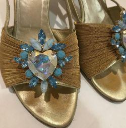 Sandals Italian from Swarovski