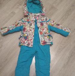 Зимний костюм-тройка
