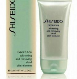 Пилинг- скатка Shiseido Green Tea