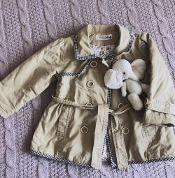 Плащ куртка детская