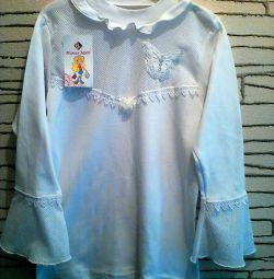 Новая нарядная школьная блузка