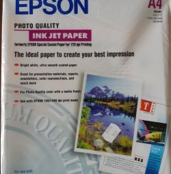 EPSON INK JET PAPER Photo Paper