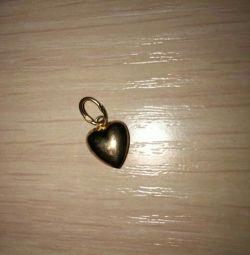 Golden Heart Pendant