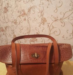 bag, leather