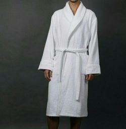 Білі махрові халати