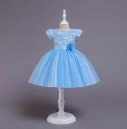 Нове плаття з пишною спідницею (підклад з бавовни)