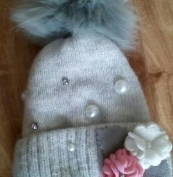 Winter hat new for a year and a half