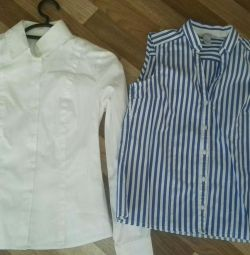 Блузки ostin h&m