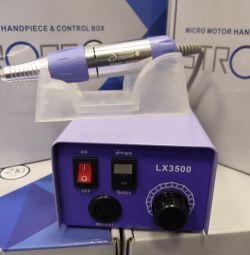 Η συσκευή για μανικιούρ ένα φρεζαρισμένο αλατούχο 30000ob