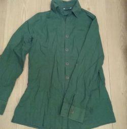 Πράσινο επώνυμο πουκάμισο