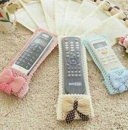Cover on the remote control