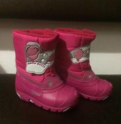 Μπότες / μπότες χιονιού / χειμερινές μπότες για κορίτσι σελ.24
