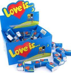 Жвачка Love is Блок 100 шт.