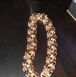 Royal bracelet male gold gypsy