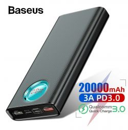 Battery Baseus 20000mAh PD3 QC3 18W Power Bank