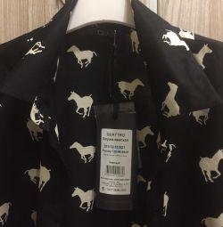 Новая рубашка Quattro, вискоза
