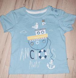Bebek 9 aylık için yeni tişört
