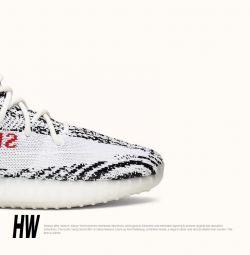 Αθλητικά παπούτσια Adidas Yeezy 350 Zebra