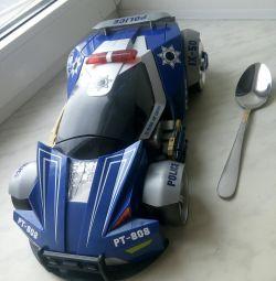Mașină mare de transformare albastră