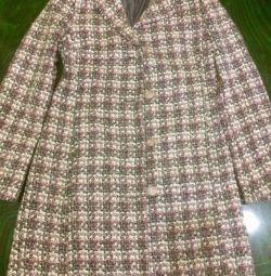 Пальто шерсть 90%