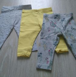 Leggings Next, p. 6-9 months.