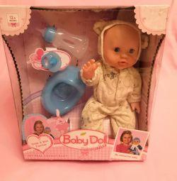 Η κούκλα μωρών είναι διαδραστική. Κούκλα μωρού