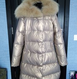 Down coat for a girl 11-13 years old.