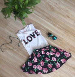 Fusta + tricou
