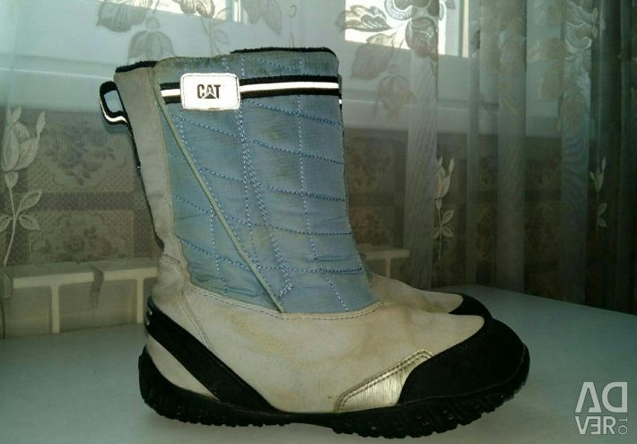 Boots for the boy winter CAT r 36