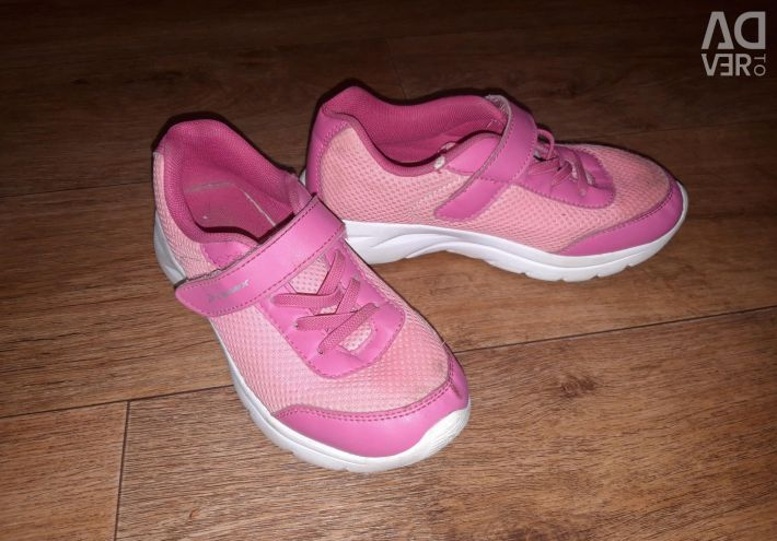Sneakers for the girl.
