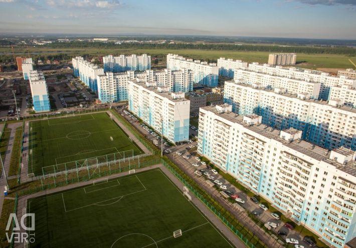 Apartment, 2 rooms, 60.4 m²